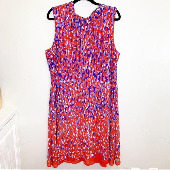 Voir Voir Dresses & Skirts - Voir Voir Women plus size patterned dress SZ 18W